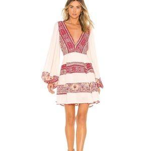 Free People Pink My Love Mini Dress XS NWT